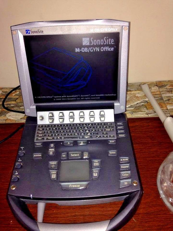 SonoSite M-Turbo Portable Ultrasound System OB/GYN: BOX ONLY