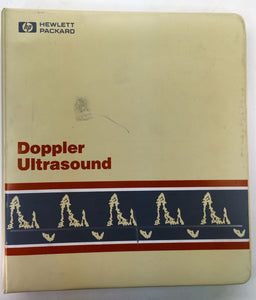 HP Doppler Ultrasound Manuals  77020-91934 77020-91935 77020-91936