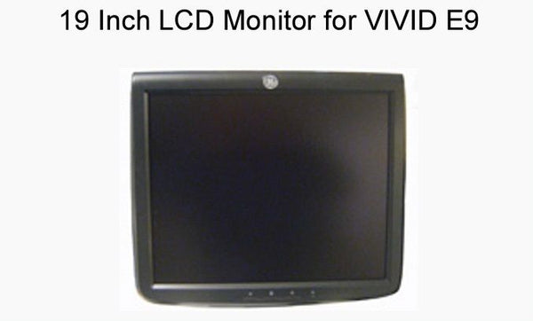 19 Inch LCD Monitor GE Vivid E9 Ultrasound System (P/N 5198551)
