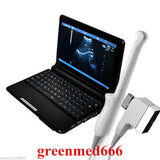 HOT BID!!! 009 Black Laptop Ultrasound scanner + Transvaginal probe,+3D 190891594846