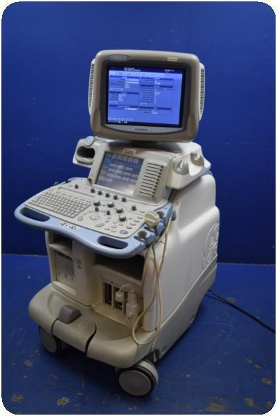 GE LOGIQ 9 2050357 DIAGNOSTIC ULTRASOUND MACHINE W/ 3.5C PROBE @ (164546)