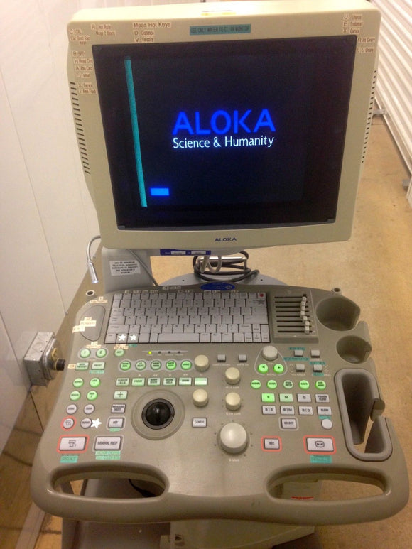 Aloka Model SSD-3500 Pediatric Ultrasound