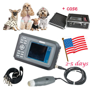 vet Veterinary Ultrasound Scanner handscan 3.5MHz probe Animals +case+ battery 190891876522
