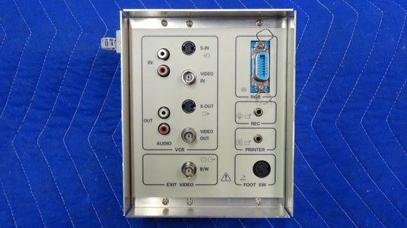 Aloka AUDIO/VIDEO CONNECT PANEL P/N EP391800BB for DynaView Ultrasound SSD-1700
