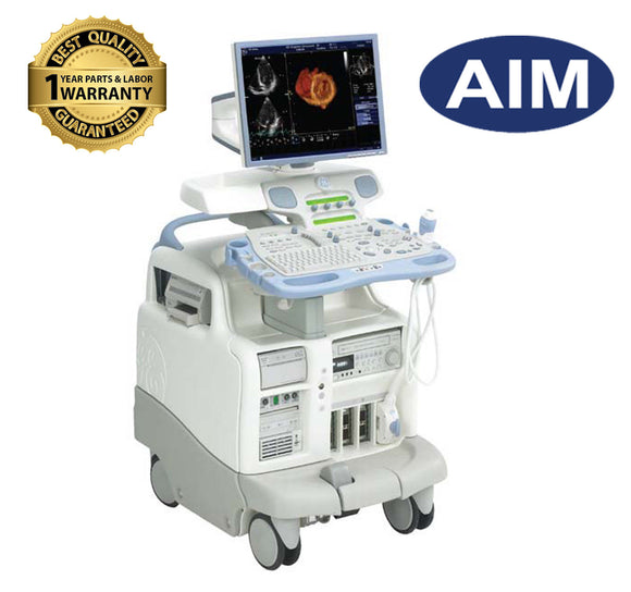 GE Vivid 7 Ultrasound Dimension w/M4S Cardiac Probe & Flat Panel |1 Yr Warranty