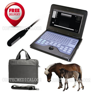 USA Seller, CE VET Veterinary Ultrasound Scanner Animal Rectal Laptop Machine 658126923446