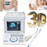 Portable 10.1 Inch Ultrasound Scanner Test Convex Transvaginal Probes USB SVGA
