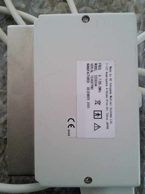 GE T739 Intraoperative 6.7/D5 0MHz Ultrasound Transducer Probe