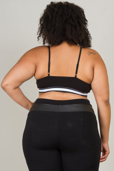 **Active Wear** Plus Size X Front Athletic Bralette