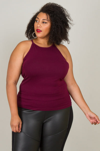 Plus Size Comfy Sleeveless Top