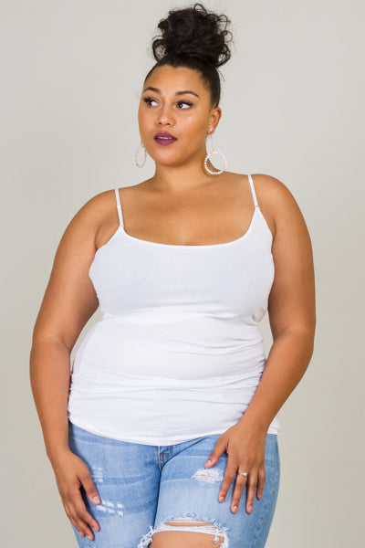 Plus Size Essential Tunic Tank Top