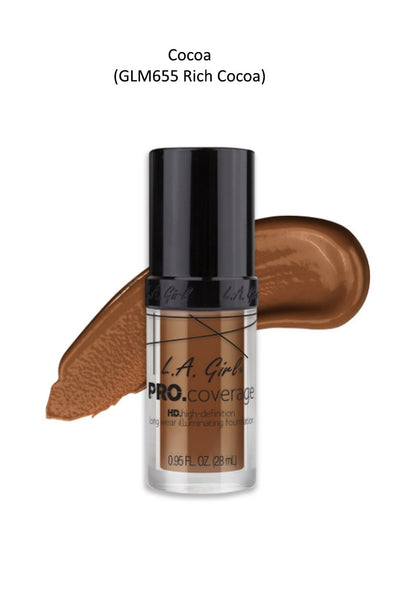 **FINAL SALE** Pro Coverage Illuminating Foundation