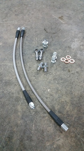 Rear brake line kit for our 240 REAR S60R big brake kit