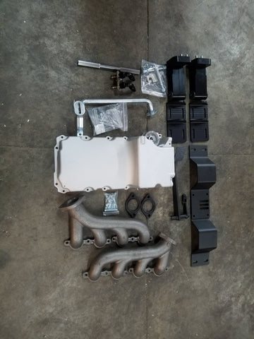 Complete LS V8 240 Volvo T56 Manual Swap
