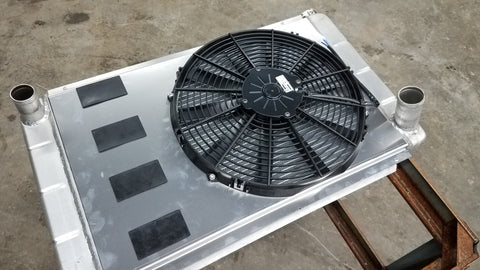 Northern Radiator fan shroud for Redblock or V8 or engines swaps.