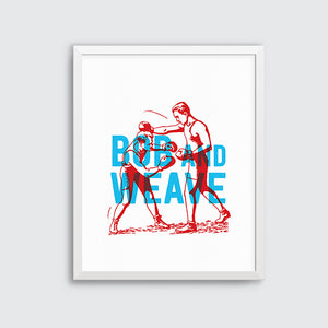 Good Fight - Bob & Weave. Limited Edition.