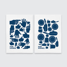 Bold Hands & Dishes Tea Towel Set