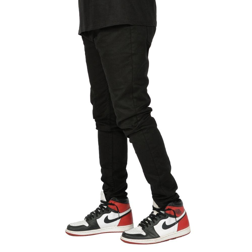 Skater Jeans (Black) Men's Pants Seize&Desist Los Angeles