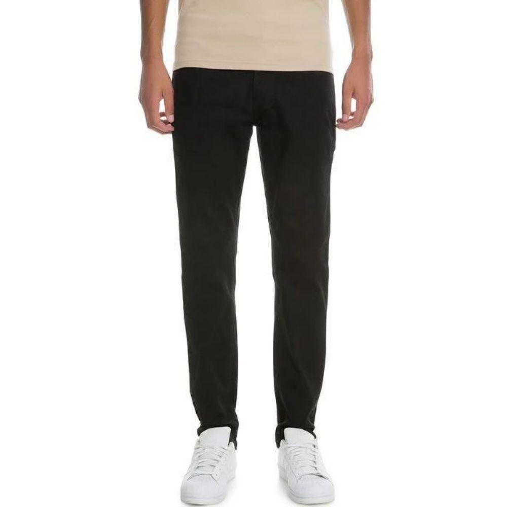 VB Basic Slim Straight Jeans (Black) Mens Jeans Seize&Desist Los Angeles
