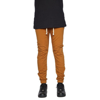 Rich V3 Twill Joggers (Dark Wheat) Mens Joggers Seize&Desist Los Angeles
