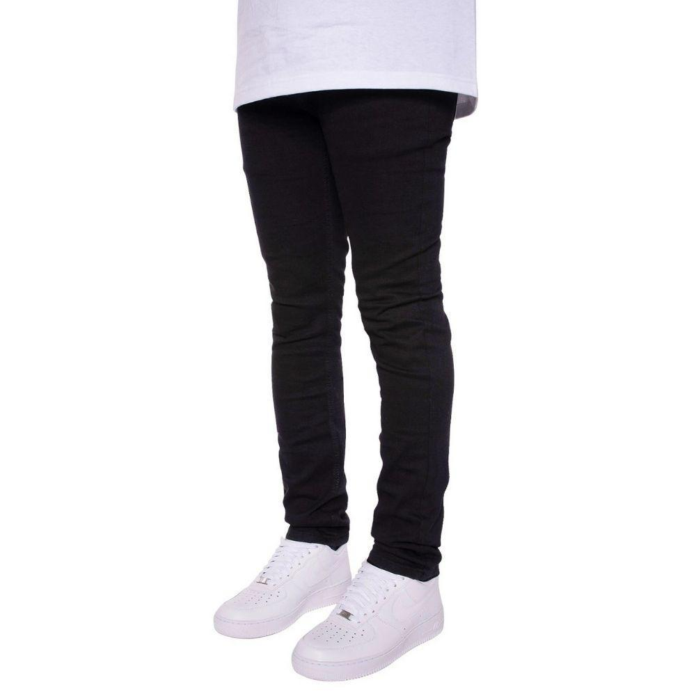 Victor Skinny Jeans in Black Mens Jeans Seize&Desist Los Angeles