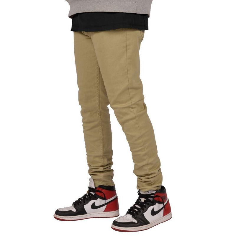 Skater Jeans (Khaki) Men's Pants Seize&Desist Los Angeles