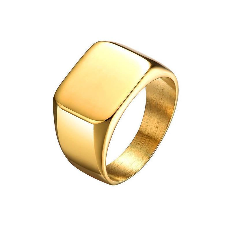 Seize&Desist Los Angeles-Mister Signet Ring- Mens Jewelry and Watches