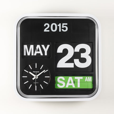 FARTECH Auto Calendar Flip Clocks - Best Sellers