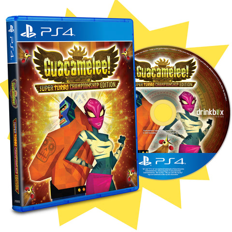 Guacamelee! STCE • Limited PS4™ Retail