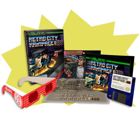 Retro City Rampage™ 486 • Retail Box