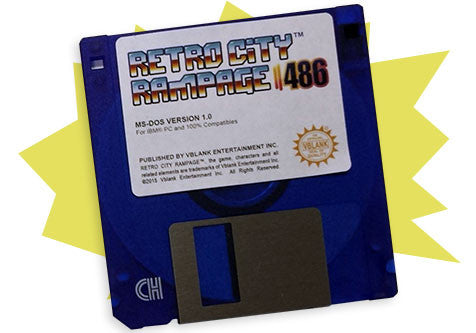 Retro City Rampage™ 486 • Floppy Disk