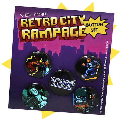 Retro City Rampage™ • Button Pack #2