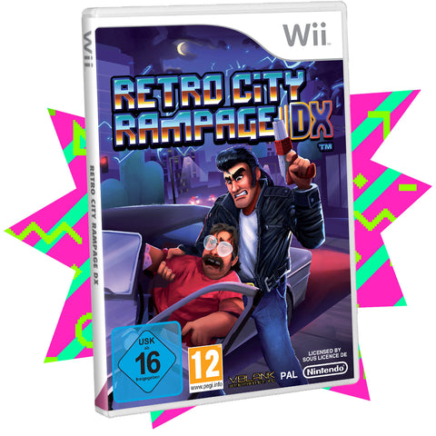 Retro City Rampage DX (Discounted Condition) • Wii