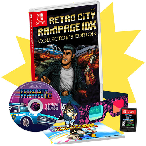 Retro City Rampage™ DX • Switch Collector's Edition