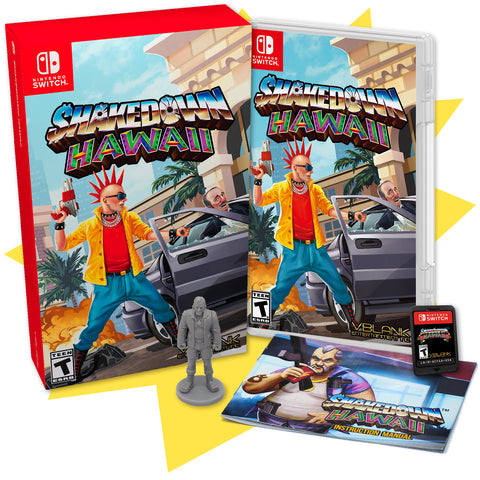 Shakedown: Hawaii • Switch Collector's Edition