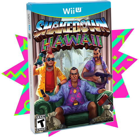 Shakedown: Hawaii (Discounted Condition) • Wii U (Special)