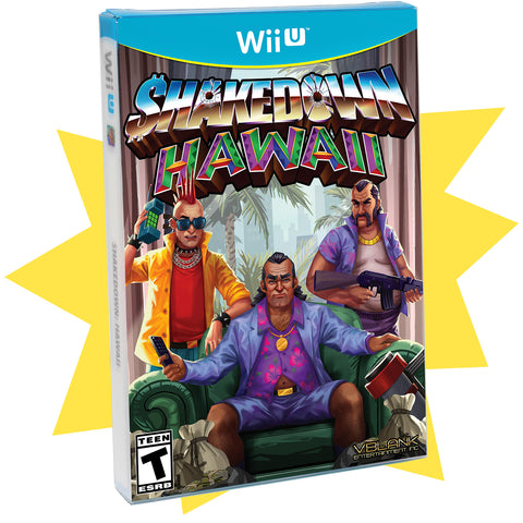 Shakedown: Hawaii • Wii U (Special Edition)