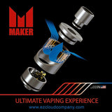 MAKER RDA Blue snake skin - EZ Cloud Company