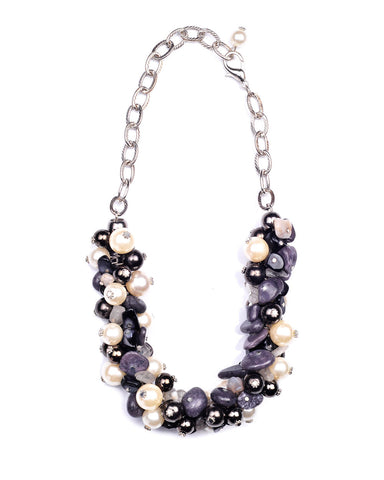 Bauble Bunch Collar Necklace - Chooseberry