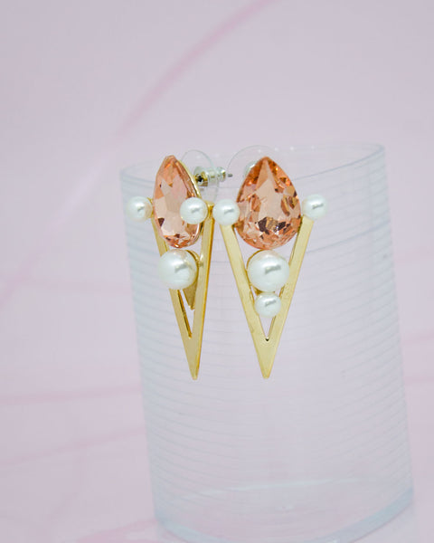 Olympic Torch Stud Earrings