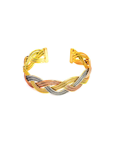 Braided Cuff Bracelet - Chooseberry