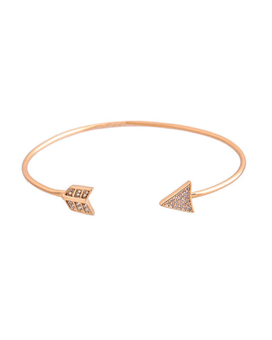 Arrow Cuff Bracelet - Chooseberry