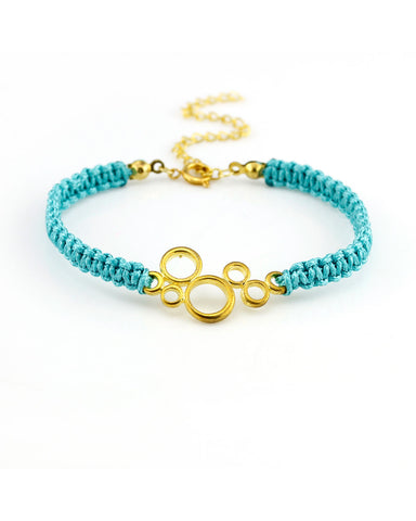 Aqua Bubble Bracelet - Chooseberry