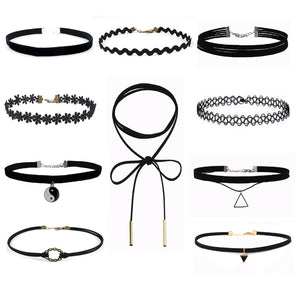 Claudine Choker Set