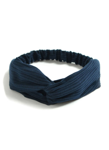 Navy Blue Gym/Yoga Sports Headband