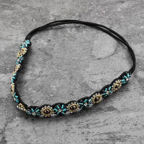 Azalea Beaded Hair Band