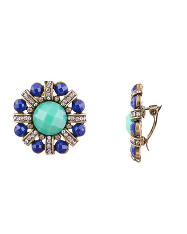 Antique Aqua Stud - Chooseberry