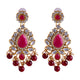 Ruby Wedding Jewellery Set for Women