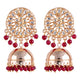 Deepika Ruby Wedding Jewellery Set for Women