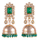 Emerald Green Wedding Jewellery Set for Women